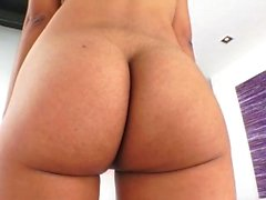 Long shaft drills her tight butt