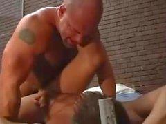 Zak Spears Prison baise Trey Casteel (porno des années 90)