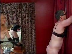 Bend Over femdom pegging
