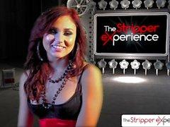 The Stripper Experience - Ariana Marie spogliarsi e succhiare un cazzo enorme