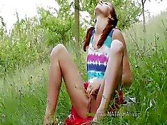 Slowaakse Natashas terug naar de natuur