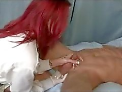 catherine gives prostate handjob