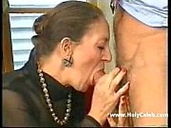 Granny Franco-Allemand Anally Fisted