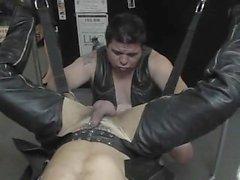 Leather And Cum - Scene 1