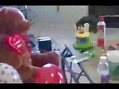 Лягушка Голова в в гетто задницу ебет в клоуном сторон Ghetto