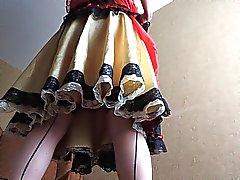 Sissy Rayn Red Sissy mekko on Hotel 2.
