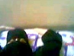 niqab baise egypte en blanc belle chatte