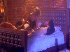 Jessica Drake with two boys in hot threesome