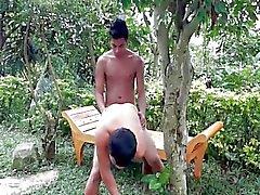 Backyard Минет без презерватива