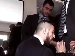 Antonio Biaggi, Mike Dozer y Dominic Sol