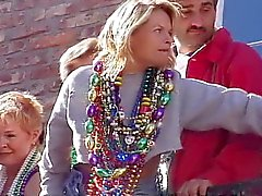 Mardi Gras parveke vilkku