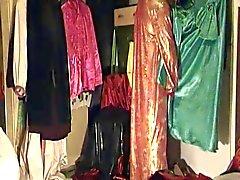 Франци И. М. Samtmantel унд orientalischen Kleid