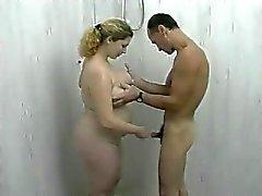 Douche met mijn Fat BBW Ex-vriendin , blowjob en neuken