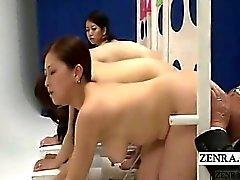 Esposas japonesas ENF voluptuoso subtituladas concurso vía oral