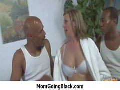 Hot mommy milf takes a ride on a big black cock 8