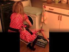 Hairy pussy kitchen whisk and bottle extreme insertion