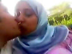 Égypte de cuming hijab sur