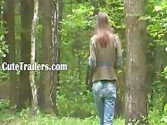 Avontuur pijpbeurt in het bos