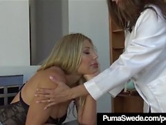 Nymphomaniac Puma Swede Abused By Hypno Doc Arielle Ferrera!