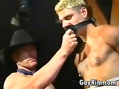 Gay Cowboy Dominating