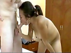 Sandra - büyük beyaz yarak alıyor Filipinli kız