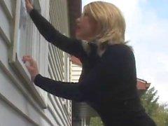 Le nettoyeur de fenêtre