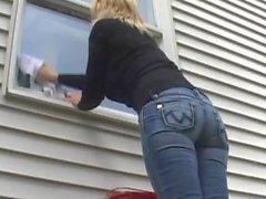 Le pulitore di finestre