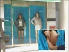 Для японской модели трахается в окне в этом весело японский зажима