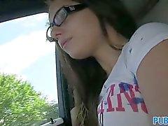 PublicAgent - Женни колледж подросток в очках