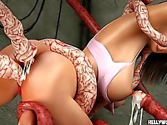Tentacle Monsters inlägget Fuck Celeb ultimat 3D Porn Tecknade