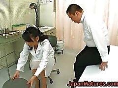 Infermiere di Natsumi Kitahara sfondare la figa