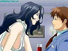 Anime slut banging in public