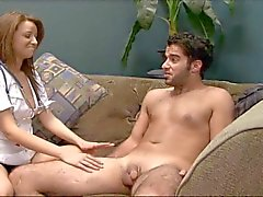 CBT - Presley de Carter - Sexy Enfermera Masturbación