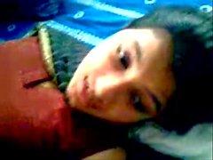 Bangladesh sweet kåta flickvännen knappt könsbestämma med pojkvännen kompis