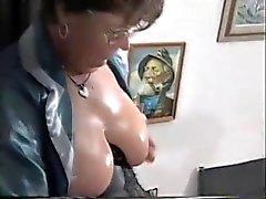 Mature Franse Huisvrouw neukt