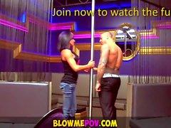 Blow Me POV - Съемники делать сосать Дикс, как профи