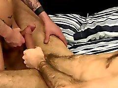 Indian capelluto omosessuale di Nathan La speranza e Craig Daniel