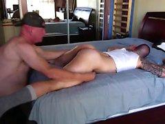 Grande cazzo muscolare gay