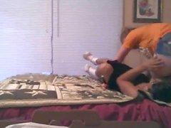Wrestling Boyfriend vs Girlfriend
