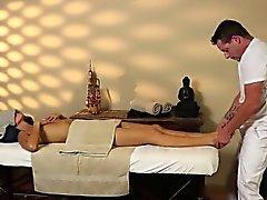 Aivan hankala hierontaa herkkää masseur