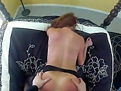 Cute model anal licking
