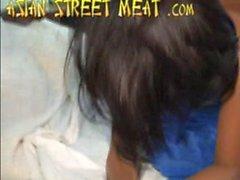 Tailandesa Bargirl En el mala calidad Hotel Room 1