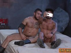 Muscle bear anal sex and cumshot