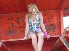 Alison Angel Strand Orgasm