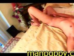 Jovencitos Sin Ser Suck y de eyaculación - de Sabastian de Manpuppy
