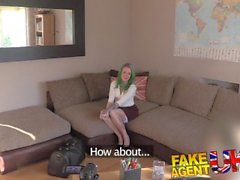 Fake Agent UK Naughty rebel tart lets agent fuck her super tight ass