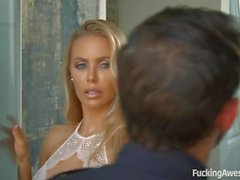 Busty Nicole Aniston Gets Fucked by Officer Adams