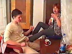 Borrachos mayores Mama follado en la alfombra By Younger (amateur )