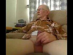 nonno colpo sulla webcam