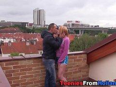 Holländisches jugendlich cum bedeckt